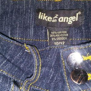 like a angel Bottoms - Girls high waisted girls